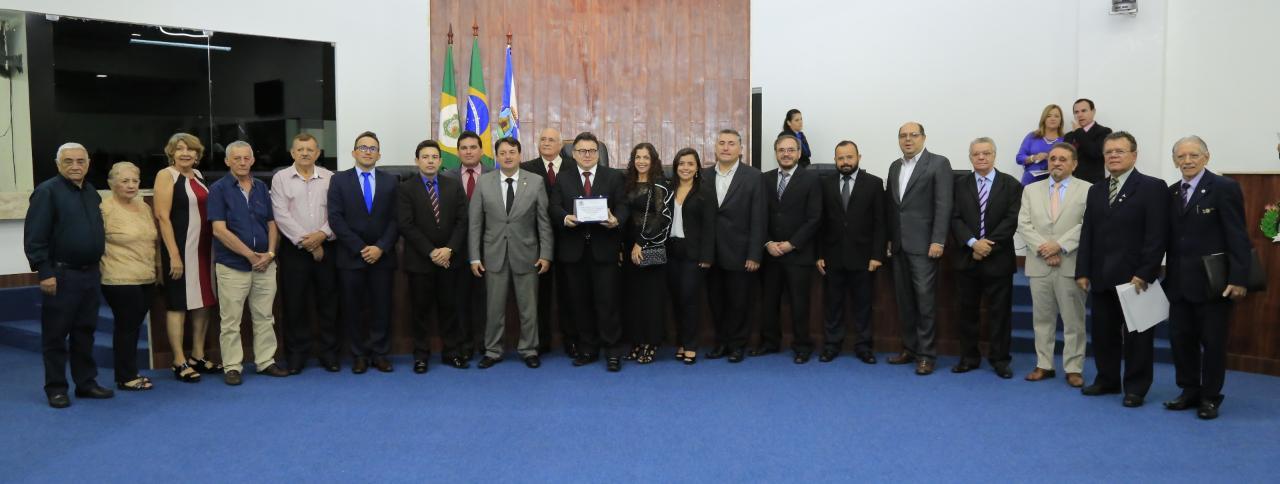Classe contábil recebe homagem da Câmara Municipal de Fortaleza.