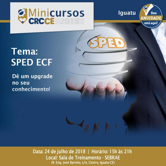 Minicurso CRCCE: SPED ECF – 24/07/2018 – Iguatu