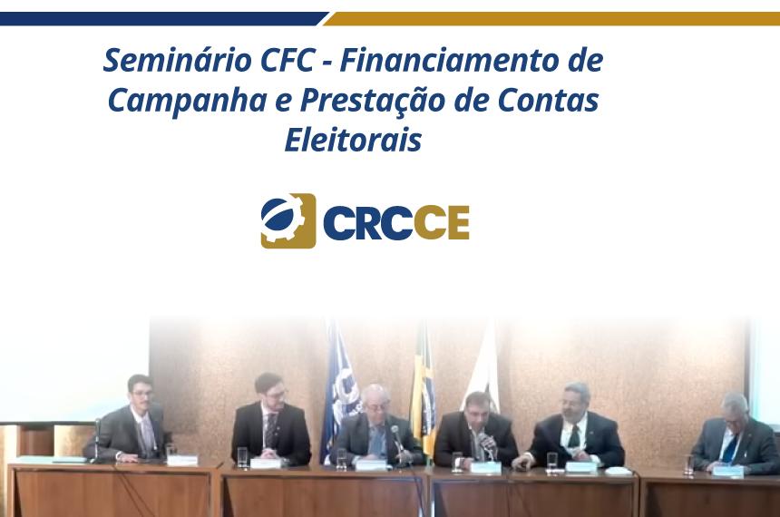 Material do Seminário sobre Financiamento de Campanha e Prestação de Contas Eleitorais CFC