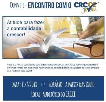 CRC/CE promove Encontro com CRC Jovem nesta quarta-feira