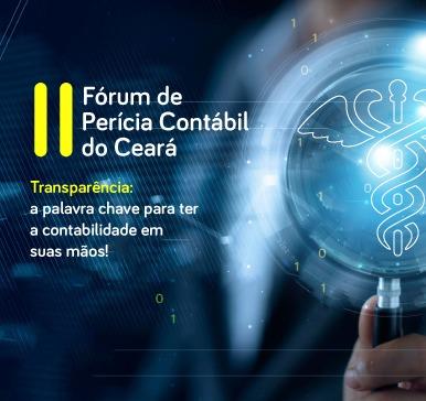 II Fórum de perícia Contábil do Ceará – 24/08/2018 – Fortaleza