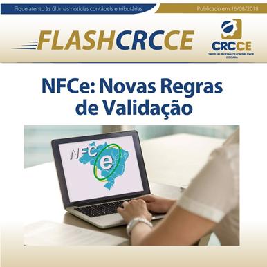 FLASH CRCCE – NFCe: Novas Regras de Validação