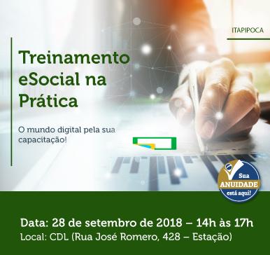 Minicurso: eSocial na prática – 28/09/2018 – Itapipoca