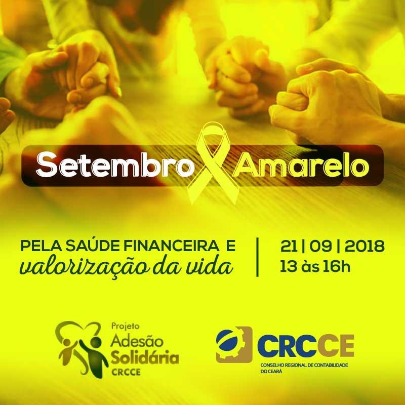 CRC/CE realiza evento alusivo ao Setembro Amarelo