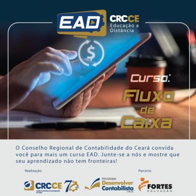 EAD CRCCE: Curso – Fluxo de Caixa