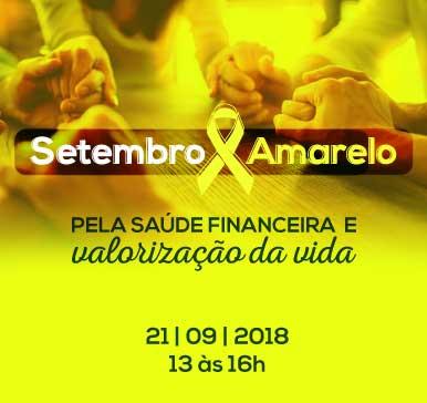 Palestra CRCCE: Setembro Amarelo – Pela saúde financeira e valorização da vida – Itarema – 21/09/2018