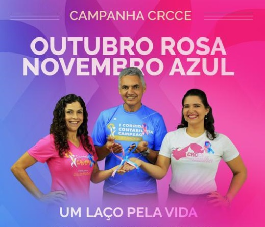 CRCCE promove ações em apoio às campanhas Outubro Rosa e Novembro Azul