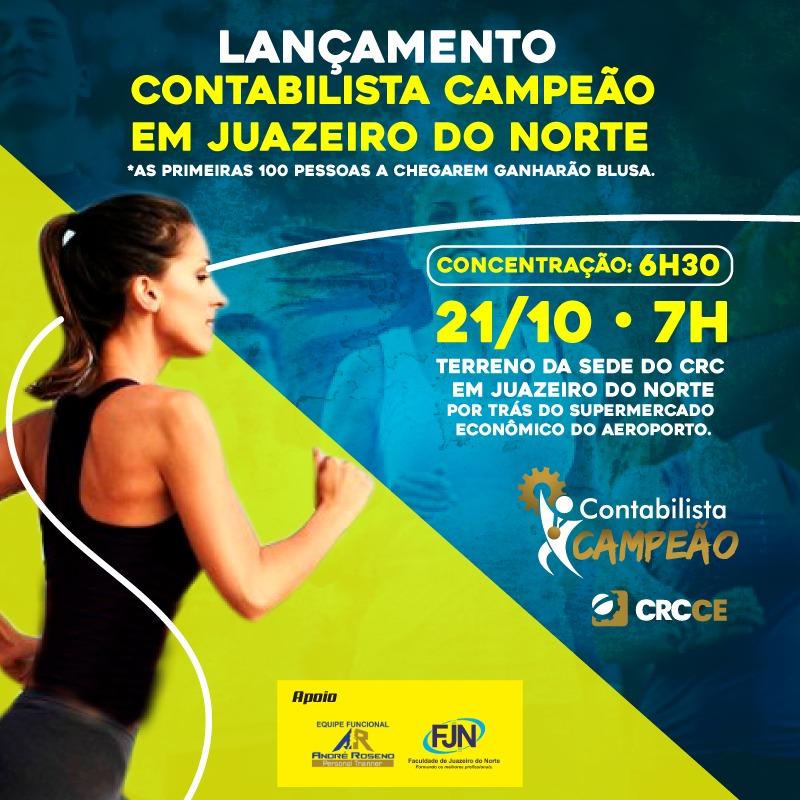 CRCCE lança projeto Contabilista Campeão em Juazeiro do Norte