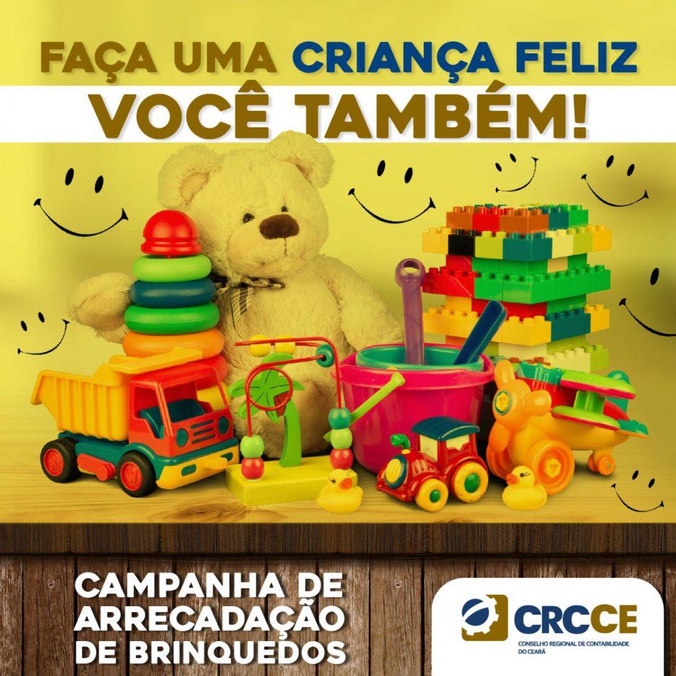 CRCCE promove campanha de arrecadação de brinquedos