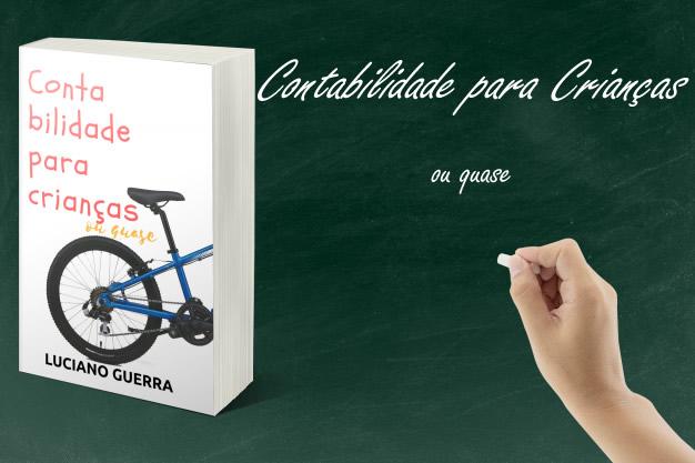 Livro aborda noções de contabilidade para crianças