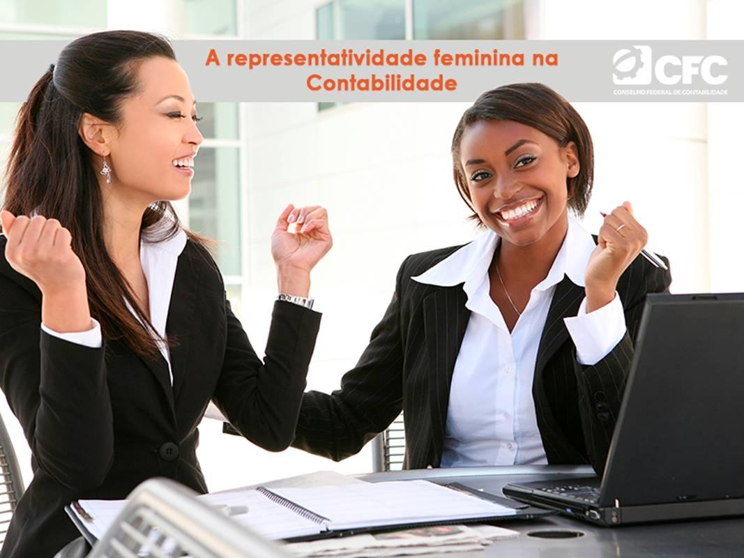 A representatividade feminina na Contabilidade