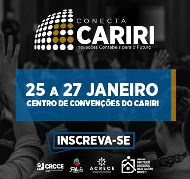 Conecta CARIRI – Inovações Contábeis para o Futuro – de 25 a 27 de janeiro de 2018