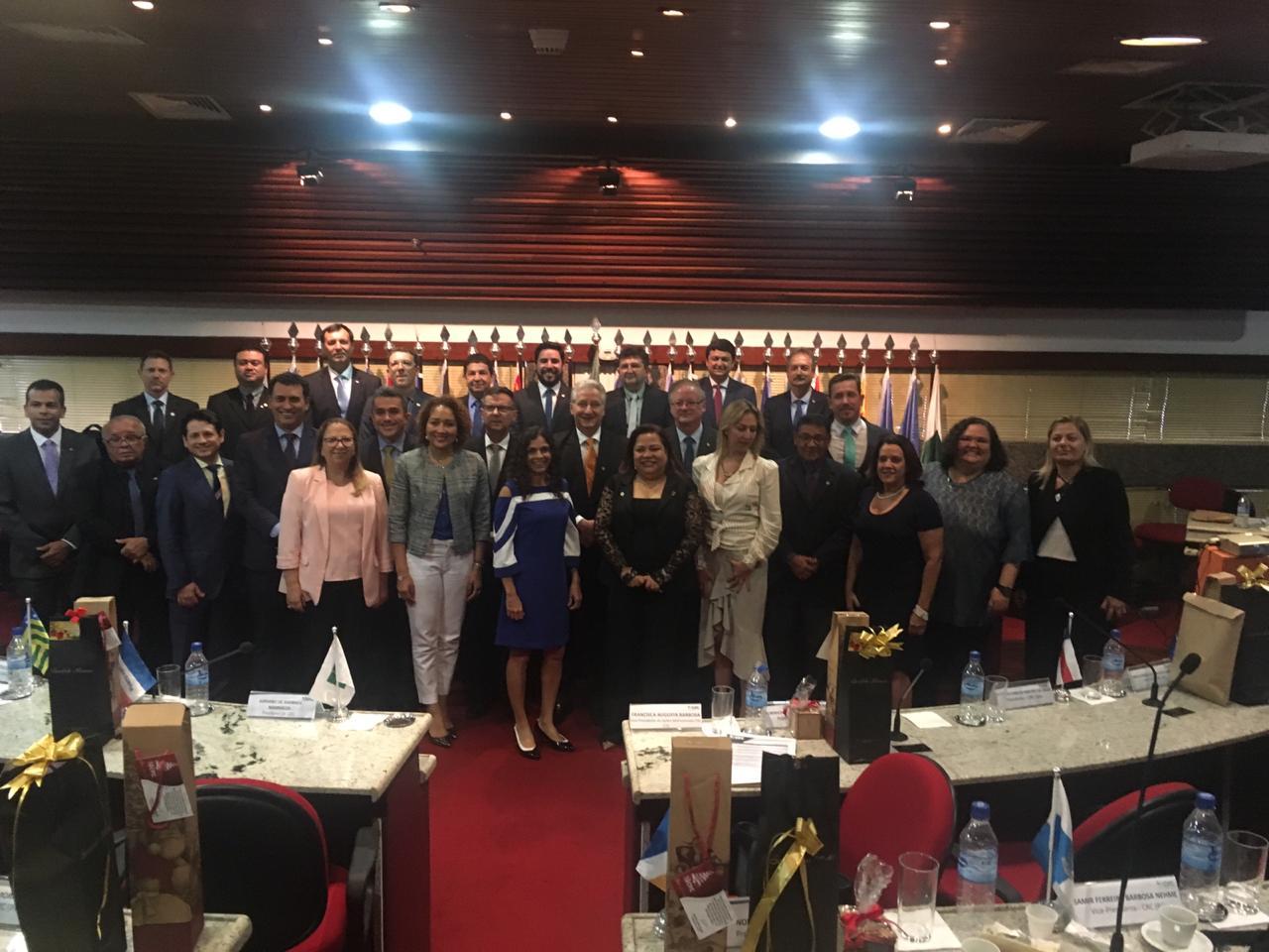 CRCCE participa de Reunião de Presidentes do Sistema CFC/CRCs em Brasília