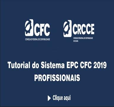 Tutorial do Sistema EPC CFC 2019 (Profissionais)