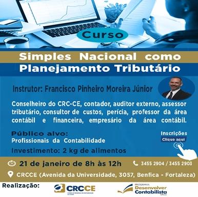 Curso – Simples Nacional – 21/01/2019 – Fortaleza