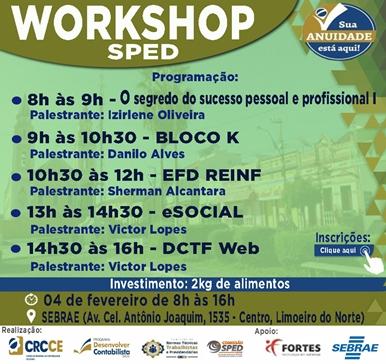 Workshop SPED – 04/02/2019 – Limoeiro do Norte
