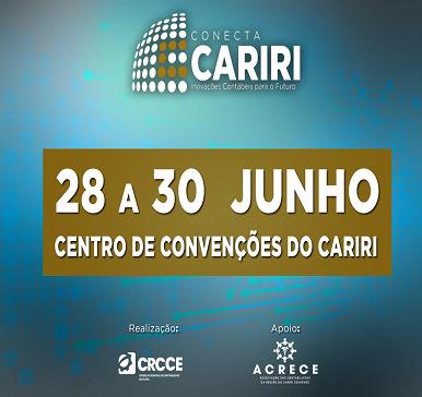 Conecta Cariri – Inovações Contábeis para o Futuro (Crato – 28 a 30/06/2019) – Programação