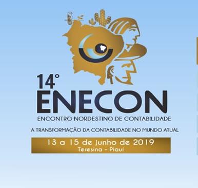 14° ENECON – 13 a 15 de junho 2019