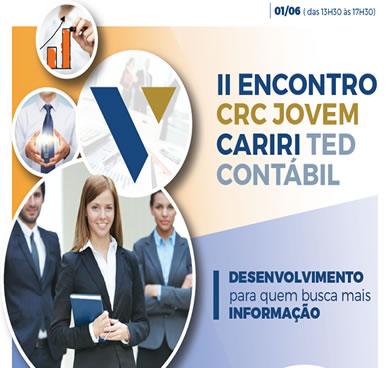 II Encontro CRC Jovem – Cariri Ted Contábil – 01/06/2019 – Juazeiro do Norte