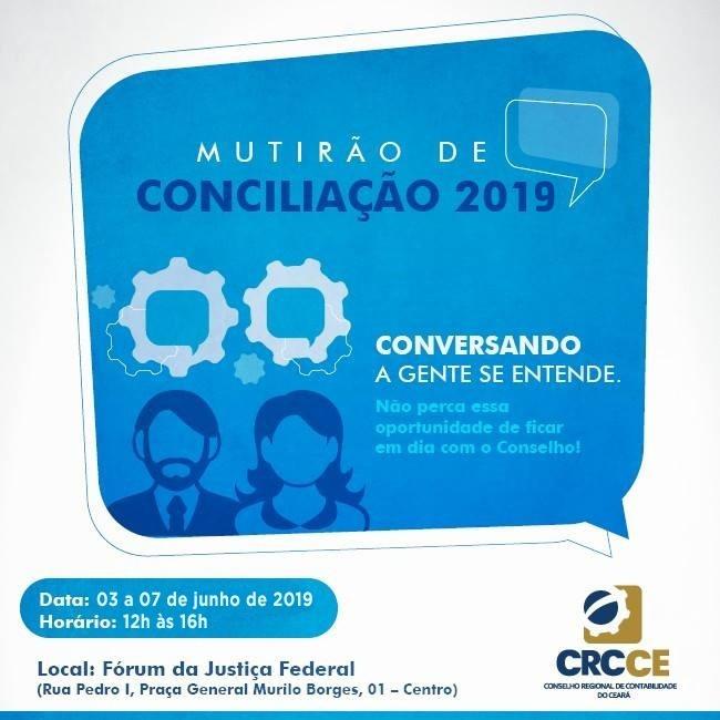 CRC/CE inicia Mutirão de Conciliação nesta segunda-feira