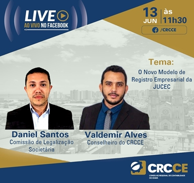 Live ao Vivo no facebook – 13/06/2019