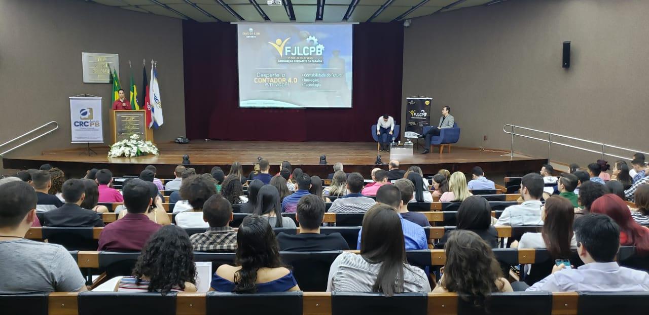 CRCCE participa do 1º Forúm de Jovens Lideranças Contábeis da Paraíba
