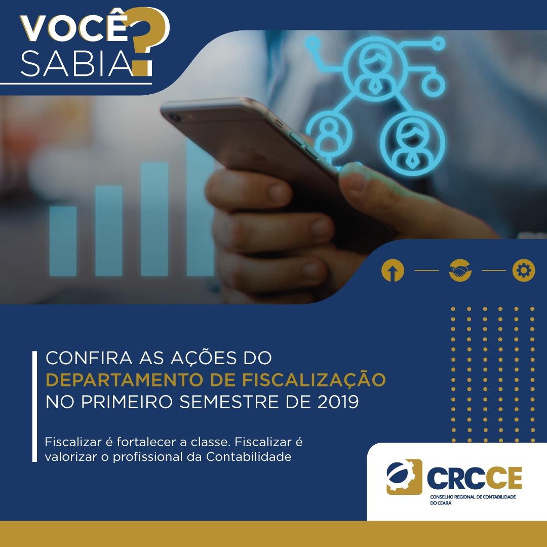 CRCCE apresenta ações integradas do Departamento de Fiscalização
