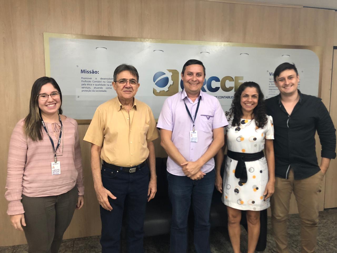 CRCCE firma parceria com IBGE para capacitação da classe contábil com o objetivo de acessar informações das pesquisas
