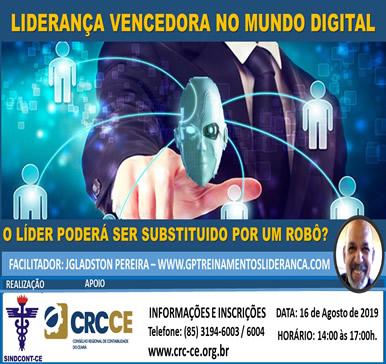 Palestra: Liderança Vencedora no Mundo Digital. – 16/08/2019 – Fortaleza