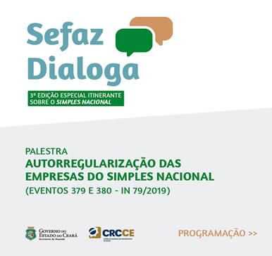 Sefaz Dialoga – 3ª Edição Especial Itinerante sobre o Simples Nacional