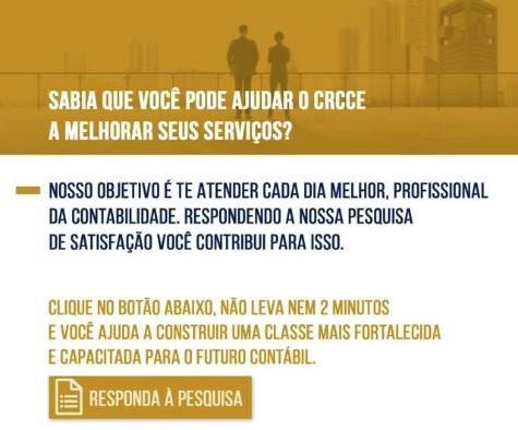 Pesquisa de Satisfação do Profissional da Contabilidade em relação ao CRC – 2º sem/2019