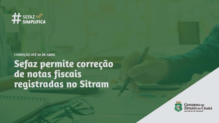Prazo para correção de notas registradas no Sitram vai até 30/04