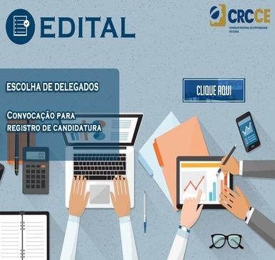 Eleição de Delegados do CRCCE – 2020