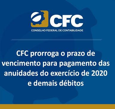 CFC – Prorroga o prazo de vencimento das anuidades