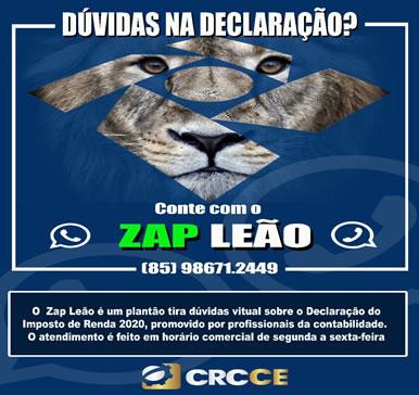 Dúvidas na declaração: Conte com o ZAP LEÃO