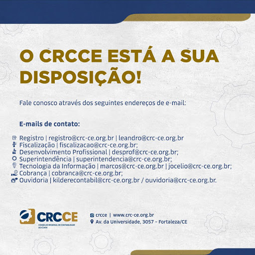 O CRCCE está a sua disposição!