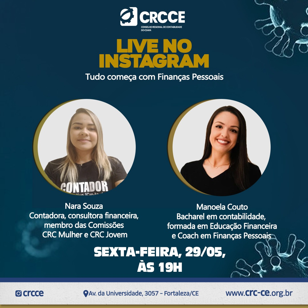 Live no Instagram – 29/05/2020 – 19 h