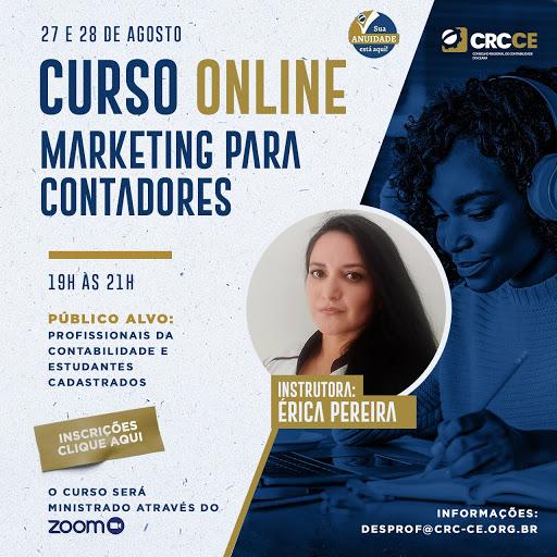 Curso: Marketing para Contadores – 27 e 28/08/2020 – 19h