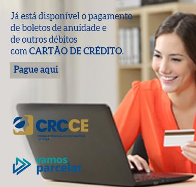 Vamos Parcelar – Já disponível o pagamento de anuidade e outros débitos com CARTÃO DE CRÉDITO