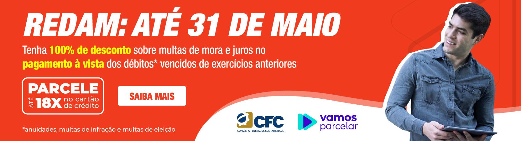 Prazo para regularizar débitos junto aos CRCs com redução de 100% sobre multa de mora e juros encerra no dia 31 de maio