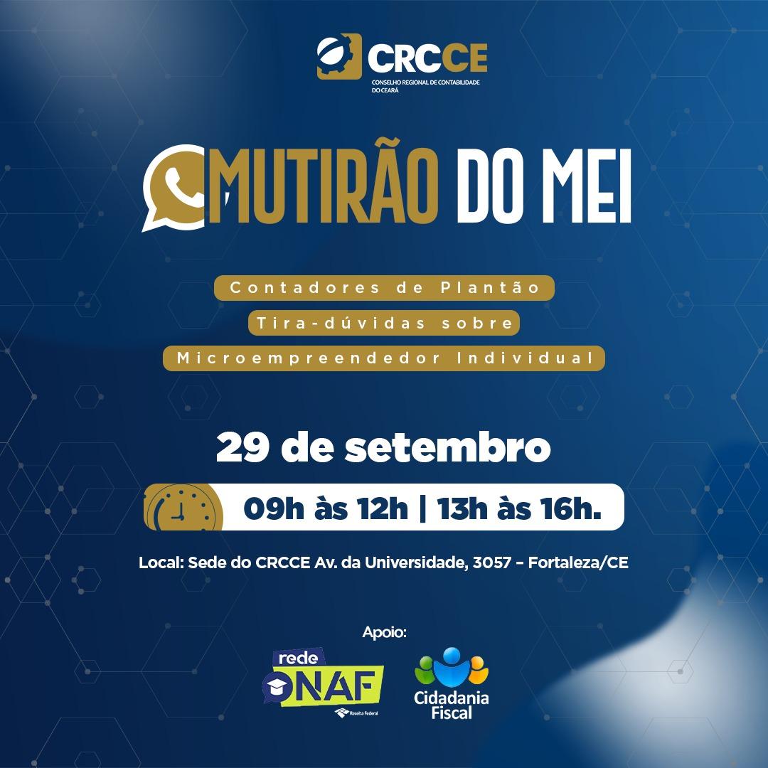 CRCCE promove mutirão tira-dúvida de regularização do MEI